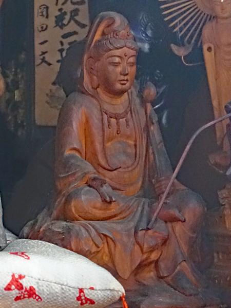 愛知・林貞寺の観音菩薩