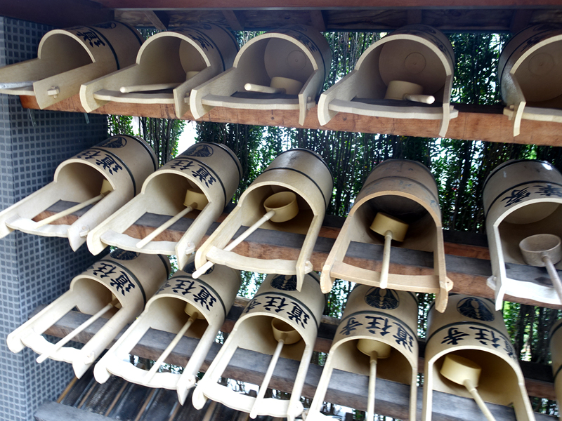 道往寺の手桶